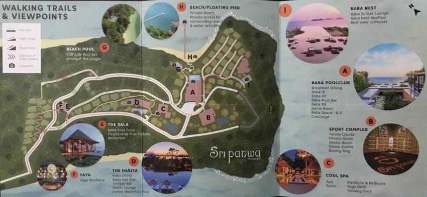 スリパンワ敷地内MAP